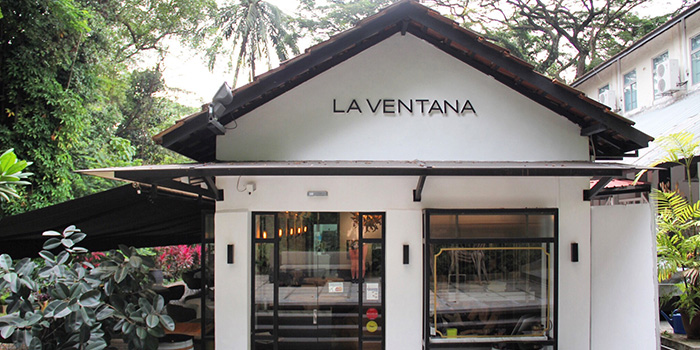 Exterior of La Ventana in Dempsey, Singapore