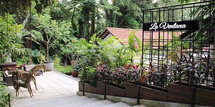 Outdoor Area of La Ventana in Dempsey, Singapore