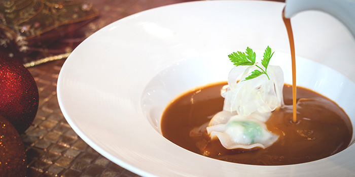 Lobster Bisque (15-16, 22-24 & 29-31 Dec) from PORTA in Park Hotel Clarke Quay in Robertson Quay, Singapore
