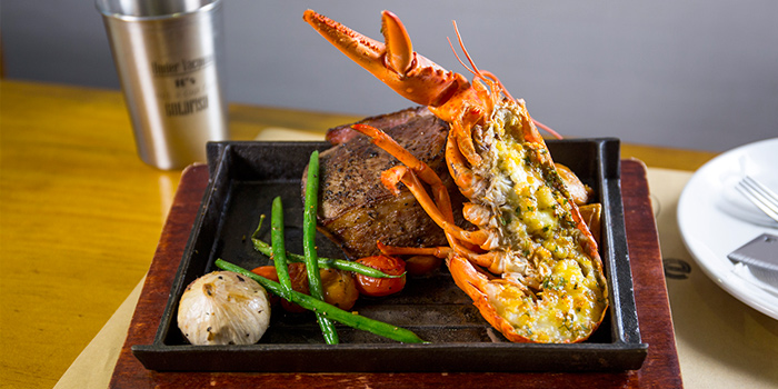 Ribeye and Grilled Lobster, The Hangout by Under Vacuum, Prince Edward, Hong Kong
