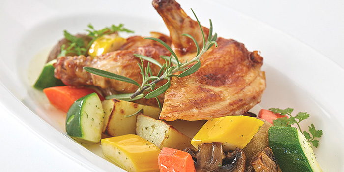 Oven Baked Spring Chicken from Royale at Mercure Singapore Bugis in Bugis, Singapore