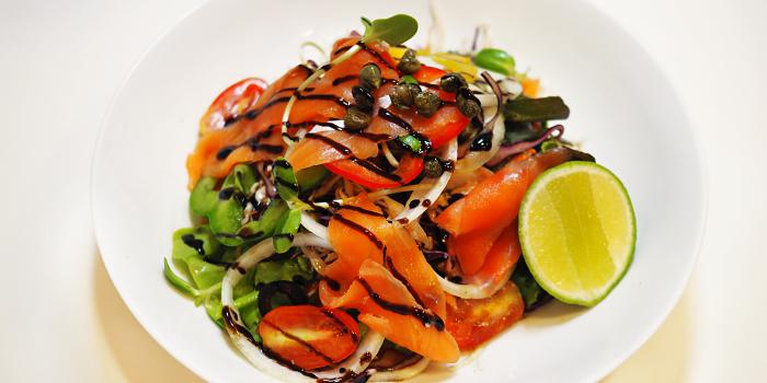 Salmon Salad from Nami Restaurant in Karon, Phuket, Thailand