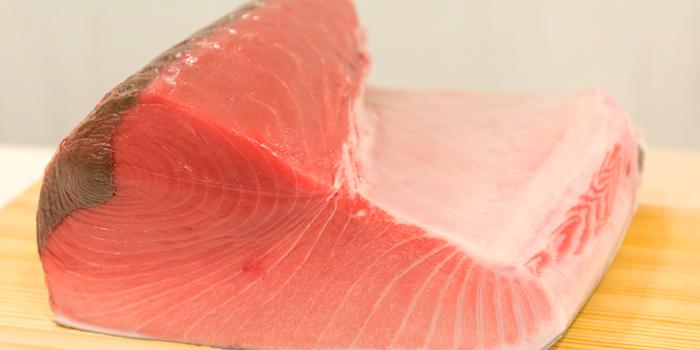Salmon from Sushi Niwa at Soi Ruam Ruedi 2, Lumpini, Pathumwan, Bangkok