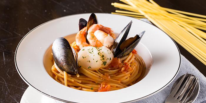 Seafood Spaghetti with Neapolitan Sauce, Co-Dining Space, Tsim Sha Tsui, Hong Kong