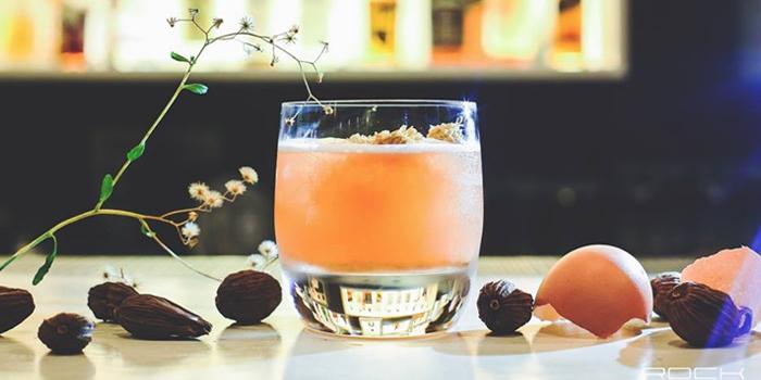 Signature Cocktail from Rock Restaurant & Bar at Soi Ruamrudee, Witthayu Road, Bangkok