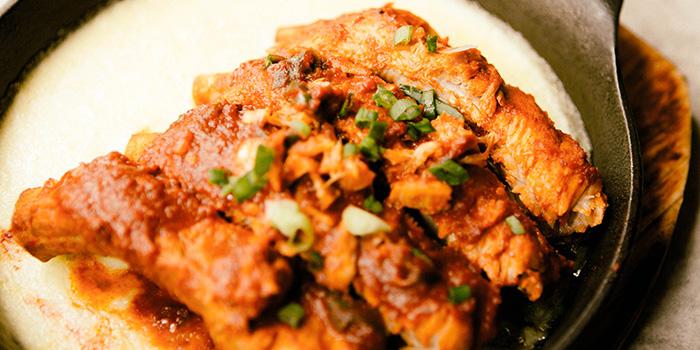Spciy Pork Rib with Cheese, SSAL BORI SSAL, Tsim Sha Tsui, Hong Kong