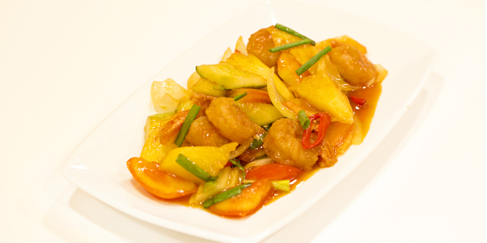 Stir-Fried Sweet and Sour from Nami Restaurant in Karon, Phuket, Thailand