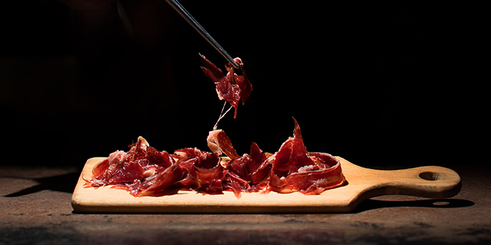 Jamon Iberico from The Other Room at Singapore Marriott Tang Plaza Hotel in Orchard, Singapore