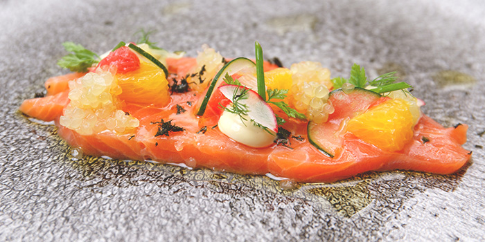 Salmon Gravlax from Tablescape Restaurant & Bar at Grand Park City Hall in City Hall, Singapore