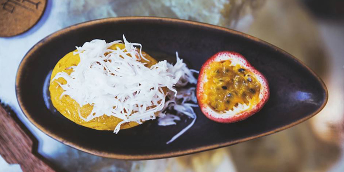 Toddy Palm Butter Cake from Rock Restaurant & Bar at Soi Ruamrudee, Witthayu Road, Bangkok