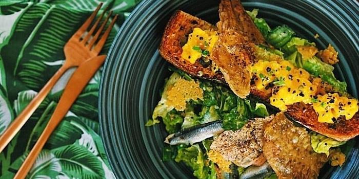 Dish 1 at Folie Kitchen Bali