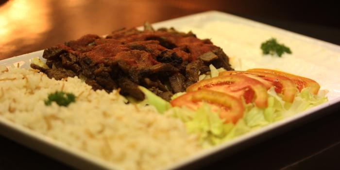 Izkender Kebab at Turkuaz