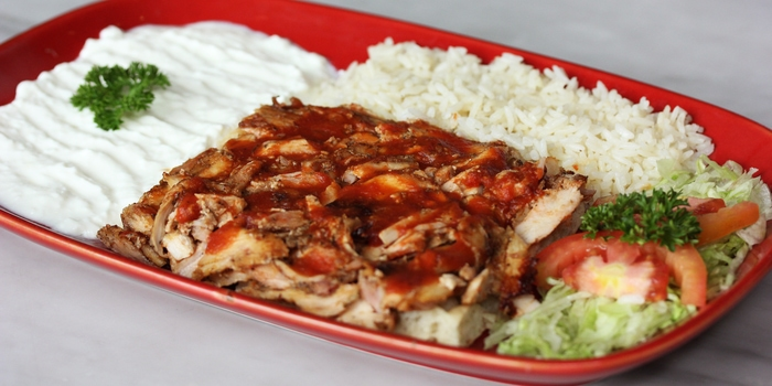 Chicken Iskender Kebab at Warung Turki