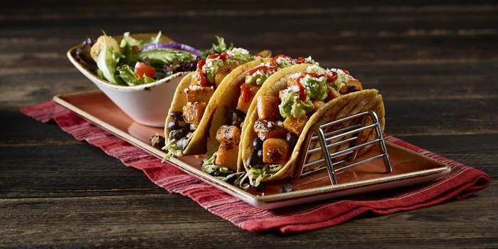 Sweet Potato and Black Beans Tacos at Hard Rock Cafe, Jakarta