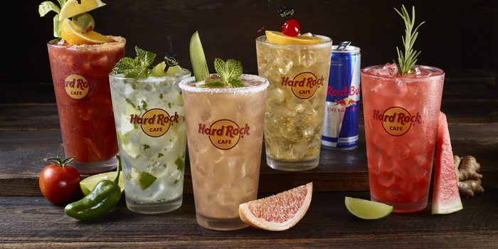 Beverages at Hard Rock Cafe, Jakarta