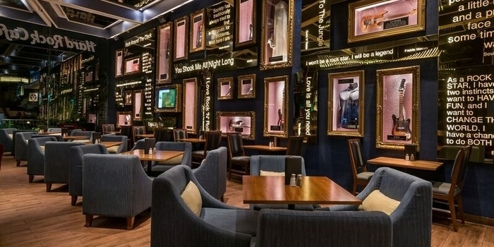 Interior 1 at Hard Rock Cafe, Jakarta