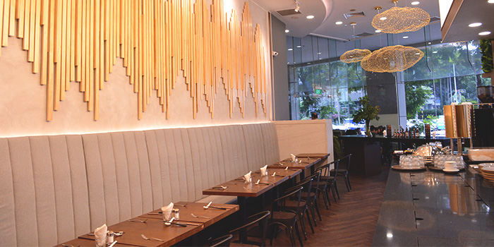 Dining Area of Amuse Dine & Bar in Outram, Singapore