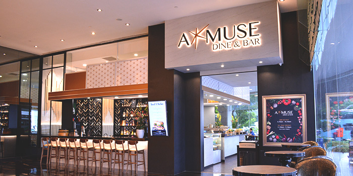 Exterior of Amuse Dine & Bar in Outram, Singapore