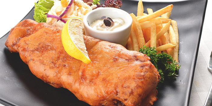 Fish & Chips from A*MUSE Zichar + Bistro Concept in Outram, Singapore