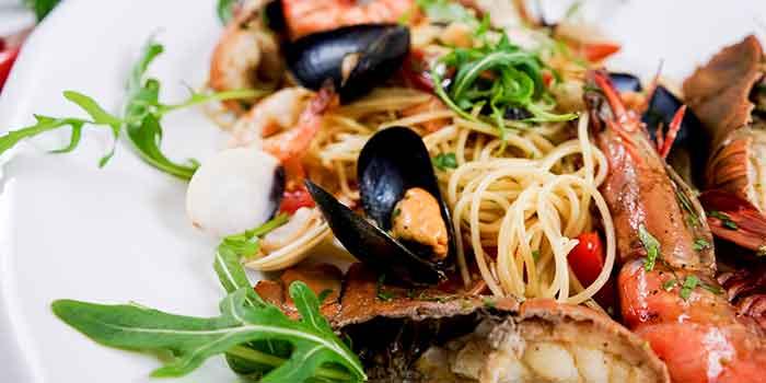 Seafood Pasta from Al Borgo @ Namly in Bukit Timah, Singapore