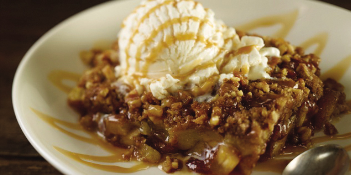 Apple Cobbler from Hard Rock Cafe Phuket in Patong, Phuket, Thailand.