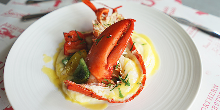 Beurre Blanc Lobster from Pince & Pints Restaurant and Bar in Duxton, Singapore