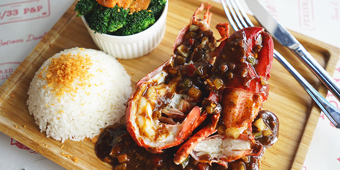 Black Pepper Lobster from Pince & Pints Restaurant and Bar in Duxton, Singapore