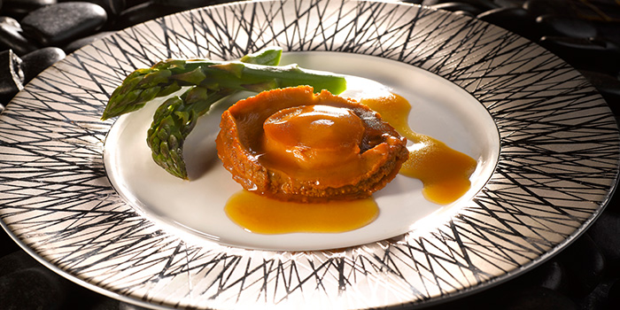 Braised 3 Head Australian Abalone from Crystal Jade Dining IN Restaurant in VivoCity in Harbourfront, Singapore