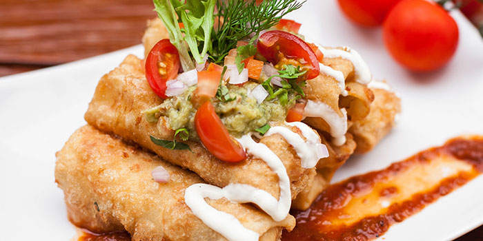 Enrollados from Comida Mexicana in East Coast, Singapore