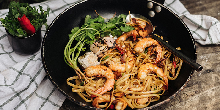 I Will Eat This Spicy Prawn Pasta from CreatureS in Jalan Besar, Singapore