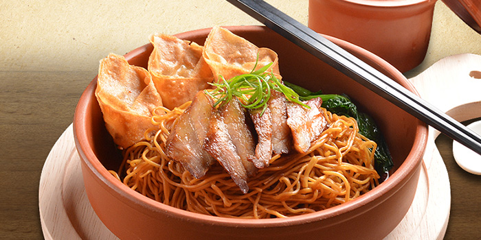 Cantonese Char Siew Noodles from Deja Brew at Singapore Chinese Cultural Centre in Tanjong Pagar, Singapore