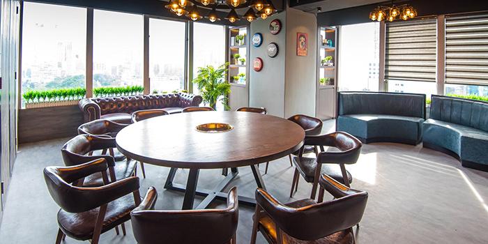 Dining Area, Copper Music Hotpot, Jordan, Hong Kong
