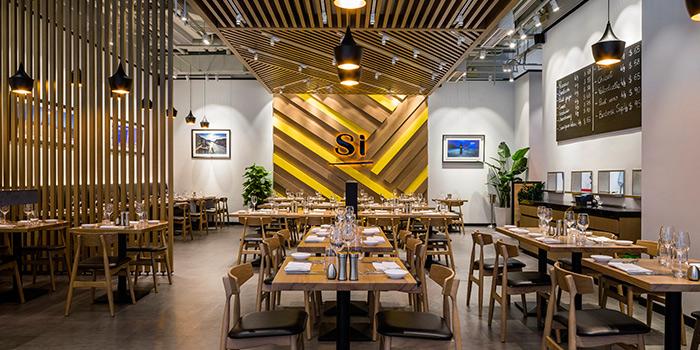 Dining Area, Si Simply Italian, Lai Chi Kok, Hong Kong