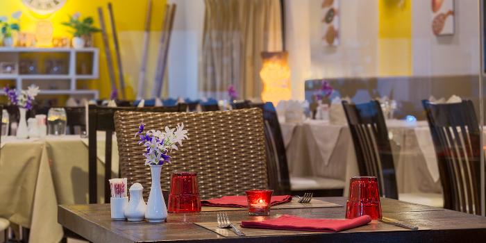 Dining at La Dolce Vita of La Dolce Vita Restaurant in Patong, Phuket, Thailand.