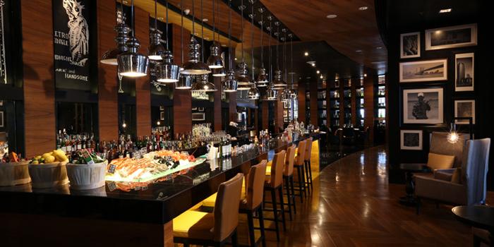 The Bar Area of Marriott Hotel, Sukhumvit Soi 57, Wattana, Bangkok