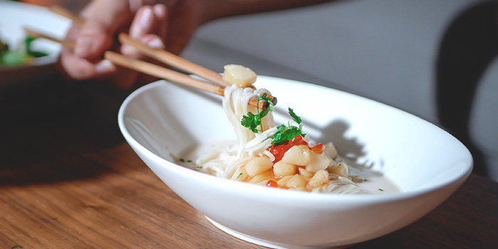 Steamed Ikura Egg White Meesua from Full of Luck Club in Holland Village, Singapore
