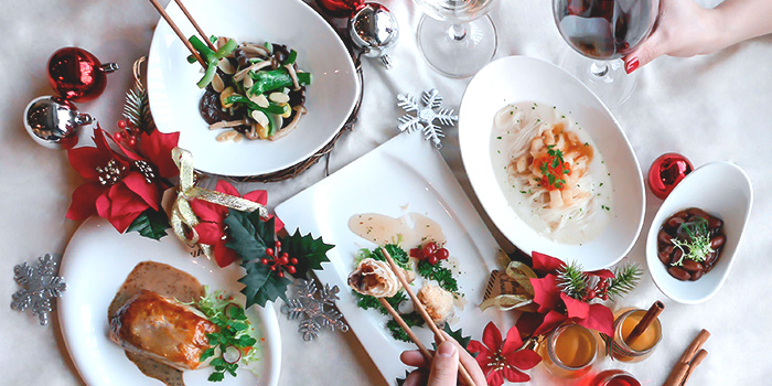 Christmas Food Spread (17 Nov to 31 Dec) from Full of Luck Club in Holland Village, Singapore