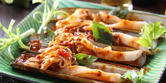 Fried Chilli Paste Razor Clam, Wong Chun Chun Thai Restaurant, Jordan, Hong Kong
