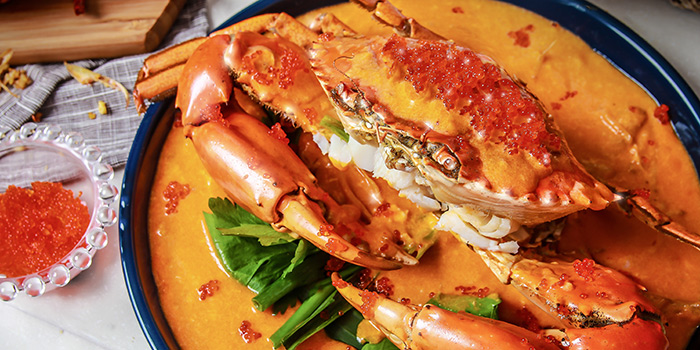 Fried Crab with Curry Sauce, Wong Chun Chun Thai Restaurant, Jordan, Hong Kong