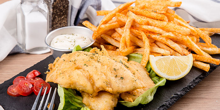 Fish & Chips from G