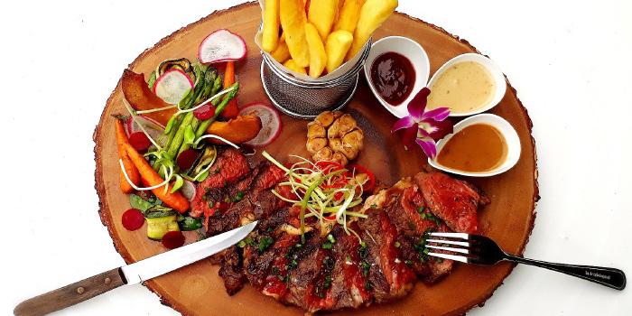 Grilled  Australian Rib-eye Steak