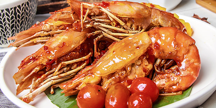 Grilled King Prawn, Wong Chun Chun Thai Restaurant, Jordan, Hong Kong