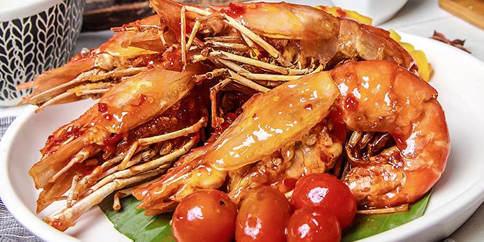 Grilled King Prawn, Wong Chun Chun Thai Restaurant, Jordan, Hong Kong
