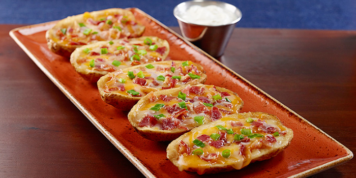 HRC Potato Skins from Hard Rock Cafe Phuket in Patong, Phuket, Thailand.