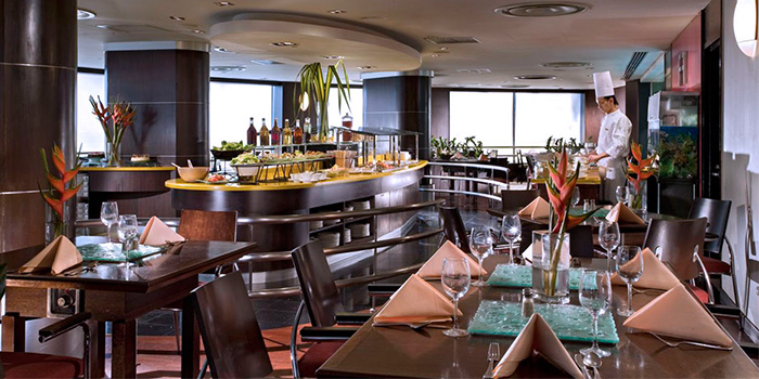 Interior Of The Buffet At M Hotel In Tanjong Pagar Singapore