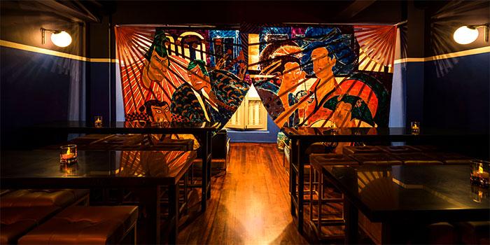 Interior of Kabuke in Telok Ayer, Singapore