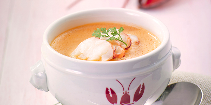Lobster Bisque, Lobster Bar and Grill, Admiralty, Hong Kong