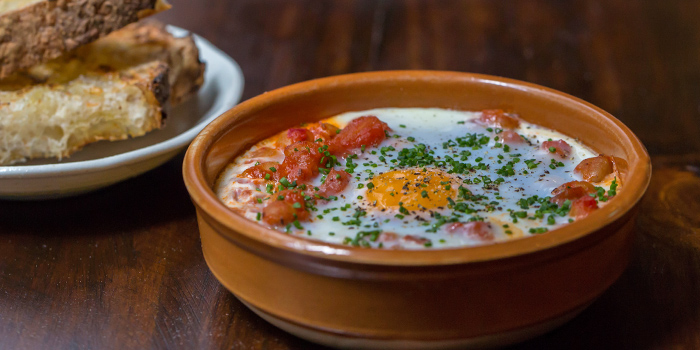 Gypsy Style Baked Eggs from Maggie Joan