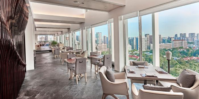 Interior from NAMI at Shangri-La Hotel in Tanglin, Singapore