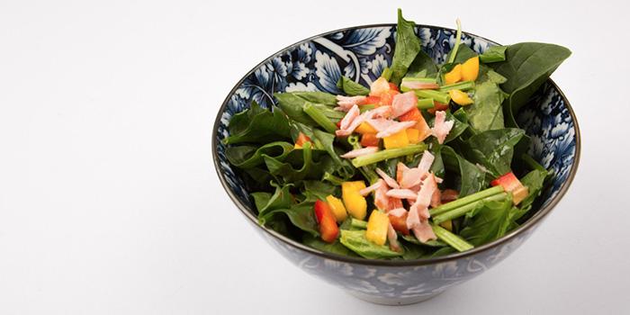 Horenso Salad from Naruto Izakaya in Boat Quay, Singapore